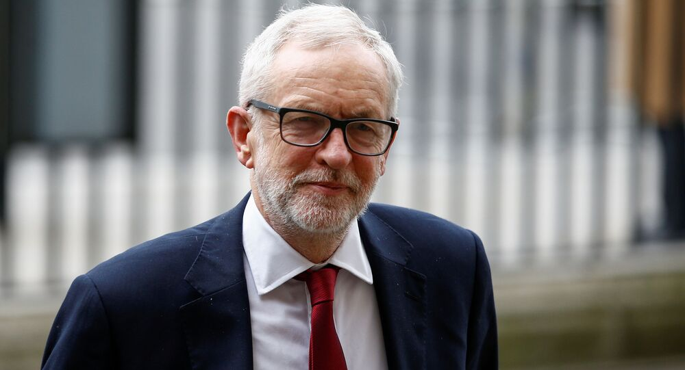 FILE PHOTO: Britain's Labour Party leader Jeremy Corbyn arrives for the annual Commonwealth Service at Westminster Abbey in London, Britain March 9, 2020