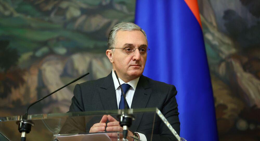 Armenian Foreign Minister Zohrab Mnatsakanyan