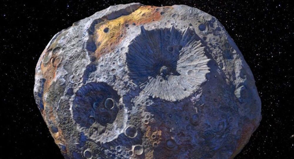 The massive asteroid 16 Psyche is the subject of a new study by SwRI scientist Tracy Becker, who observed the object at ultraviolet wavelengths.