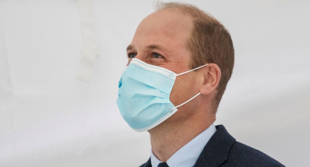 Prince William tested positive for coronavirus in April, kept result secret