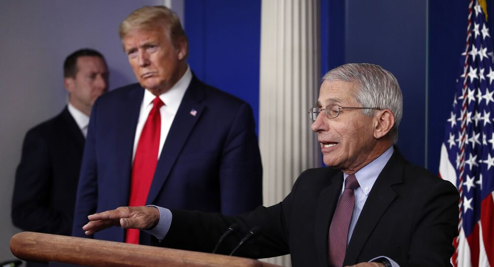 Trump threatens to fire Fauci 'after the election'