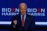 Democratic U.S. presidential nominee and former Vice President Joe Biden makes a statement in Wilmington, Delaware, U.S., October 28, 2020