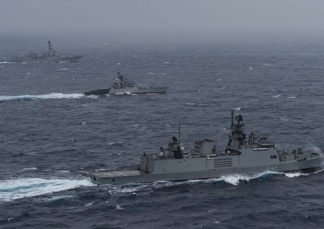 India hosts Japan, Australia, U.S. in naval exercise Malabar 2020