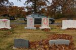 Graves are tagged with graffiti reading TRUMP at a Jewish cemetery in Grand Rapids. The graffiti was discovered on November 2, 2020