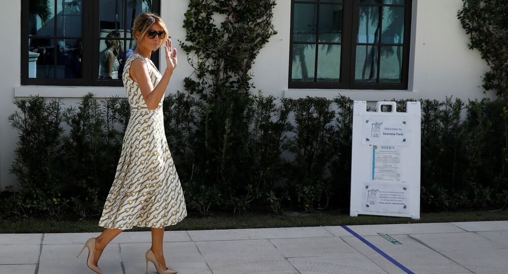 United States election: Melania Trump slammed for 'disrespectful' move at polling station