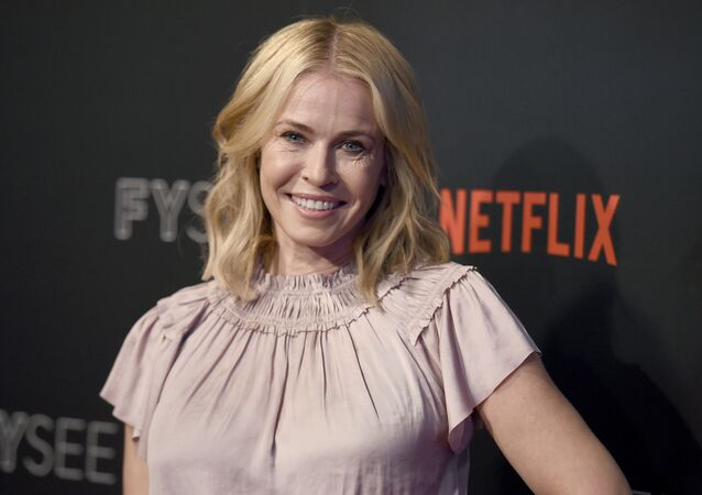 In this May 23, 2017, file photo, Chelsea Handler arrives at the Netflix Comedy Panel For Your Consideration Event at the Netflix FYSee Space in Beverly Hills, Calif. Handler announced on Oct. 18, 2017, that she is ending her Netflix talk show after two seasons in order to focus on political activism.