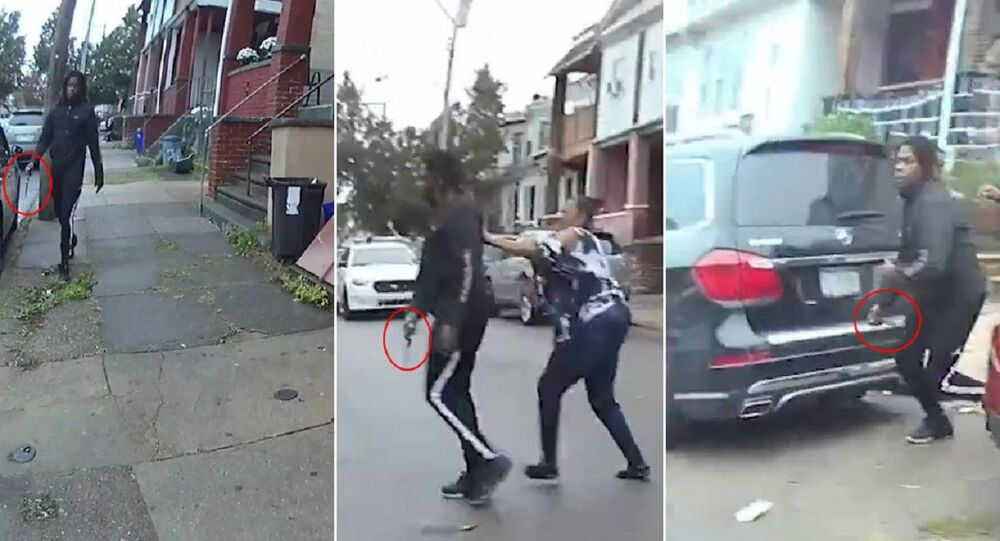 Graphic video showing the shooting of Walter Wallace Jr.