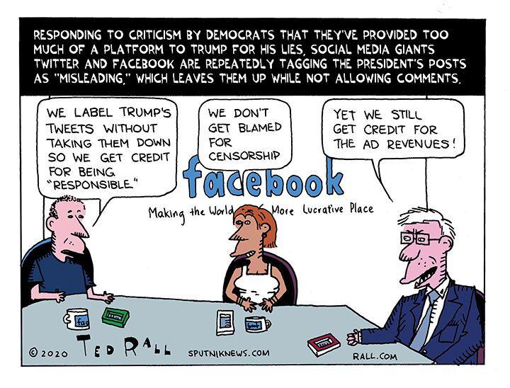 Social Media Standoff