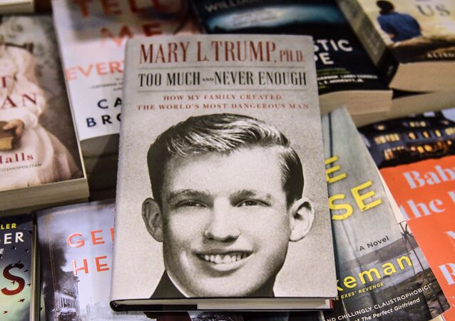 NEW YORK, NY - JULY 14: In this photo illustration, Mary Trump's new book about U.S. President Donald Trump is on display at a book store on July 14, 2020 in the Brooklyn borough in New York City.