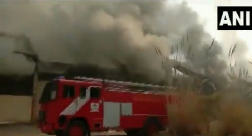 Fire breaks out at factory in Ghaziabad's Dasna