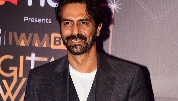 Bollywood actor Arjun Rampal attends the MTV IWM Buzz Digital Awards ceremony in Mumbai on November 12, 2019 - Sputnik International