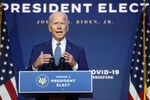 U.S. President-elect Joe Biden speaks to reporters about efforts to confront the coronavirus disease (COVID-19) pandemic after meeting with members of his Transition COVID-19 Advisory Board in Wilmington, Delaware, U.S., November 9, 2020. REUTERS/Jonathan Ernst