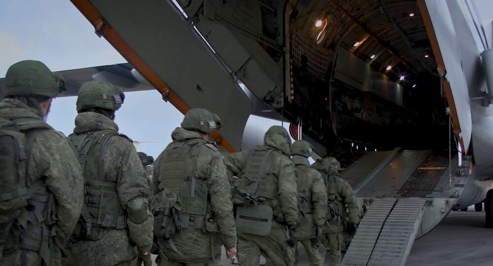 Russian peacekeepers are deployed to Nagorno-Karabakh