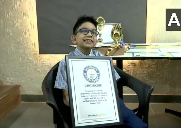 Gujarat: Arham Om Talsania, a Class 2 student from Ahmedabad, created Guinness World Record as World's Youngest Computer Programmer by clearing Python programming language exam at the age of six