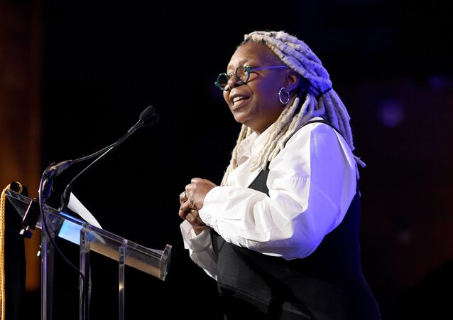 NEW YORK, NEW YORK - JANUARY 08: Whoopi Goldberg speaks onstage during The National Board of Review Annual Awards Gala at Cipriani 42nd Street on January 08, 2020 in New York City