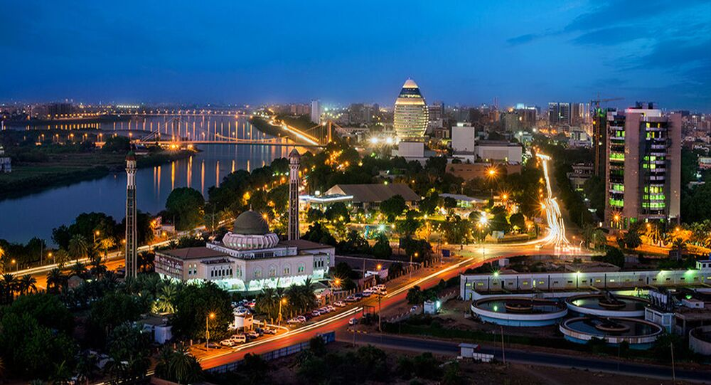 City of Khartoum in Sudan