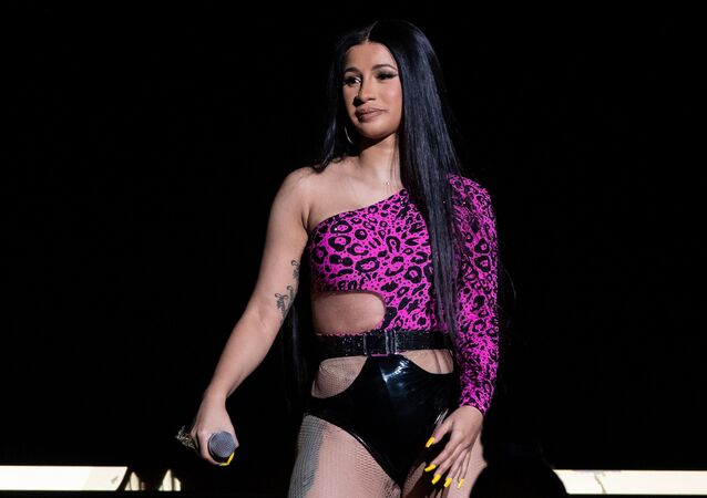 Cardi B performs at the Austin City Limits Music Festival on October 6, 2019 at Zilker Park in Austin, Texas