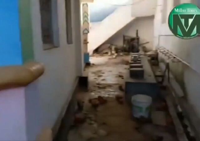 A Mosque was attacked during the victory procession of a BJP leader; the mob entered the mosque and shouted Jai Sri Ram, pelting people with stones and vandalising the building.
