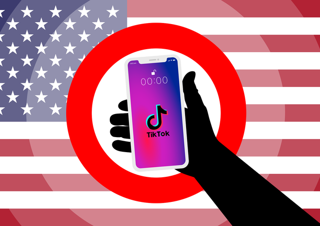 TikTok, US Flag