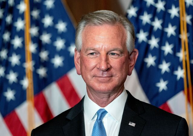 Senator-elect Tommy Tuberville, a Republican from Alabama, stands for a photo at the U.S. Capitol in Washington, D.C., U.S., November 9, 2020