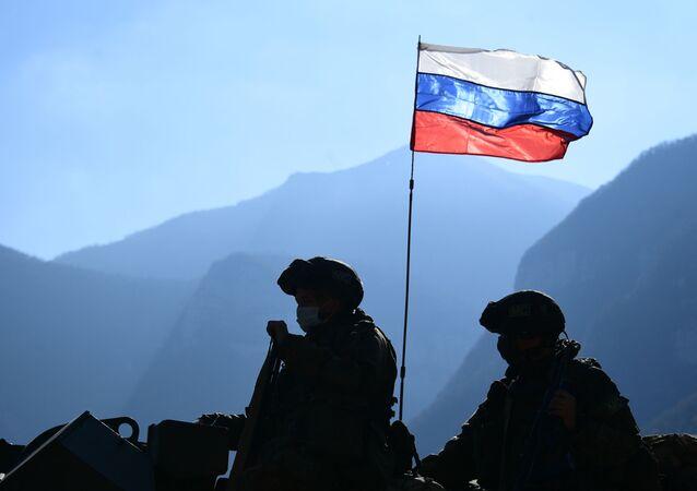 Russian peacekeepers in Nagorno-Karabakh