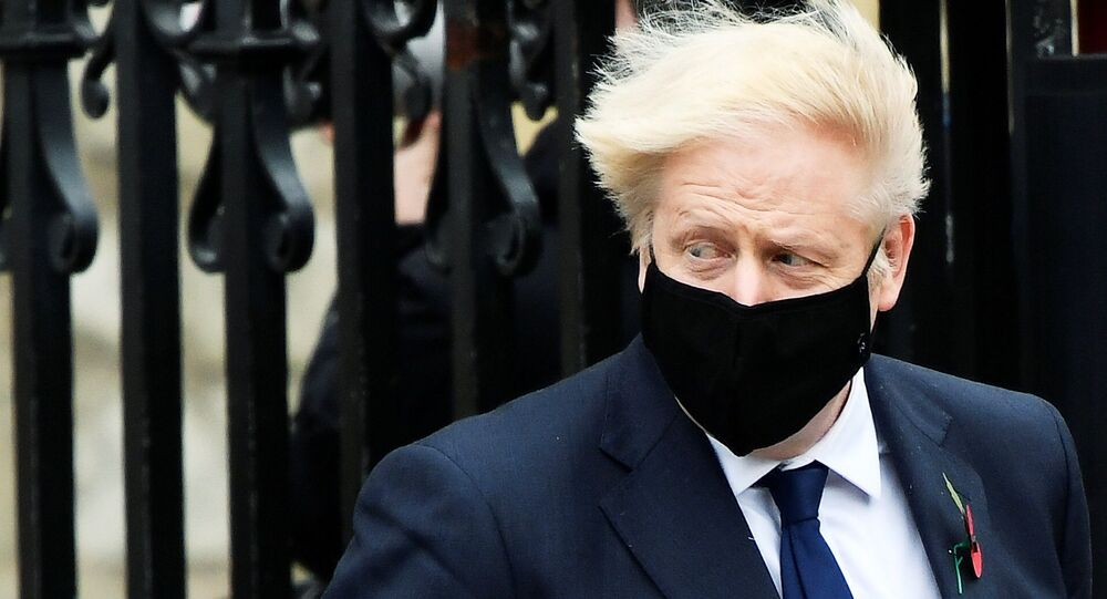 Boris Johnson self-isolates after contact tests positive for coronavirus