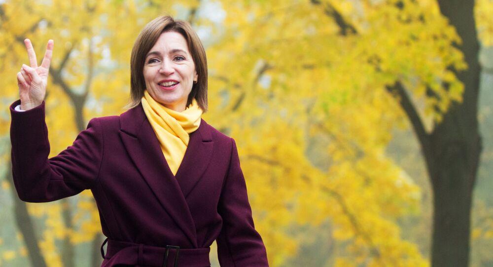 Opposition Candidate Sandu Wins Presidential Run-off In Moldova
