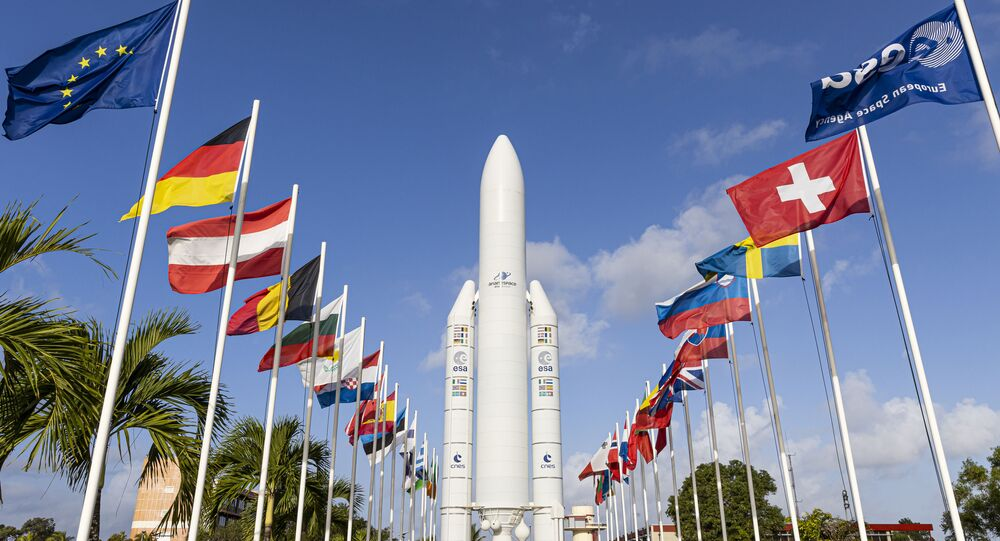 European space rocket launch fails minutes after takeoff