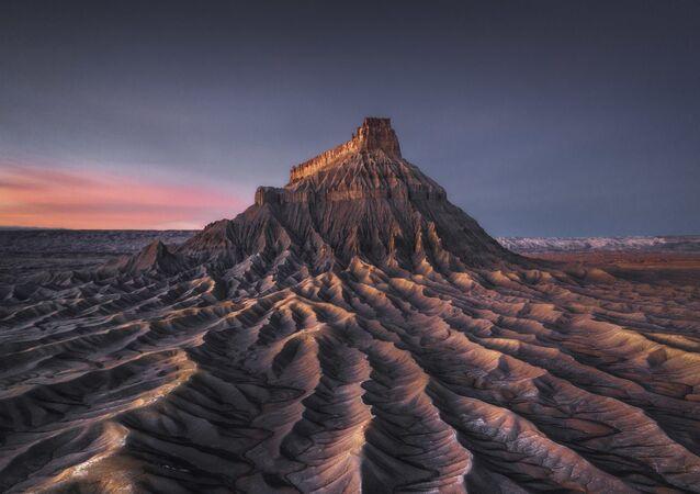 The photo Mars by Hong Kong photographer Kelvin Yuen, the winner of The International Landscape Photographer of the Year 2020.
