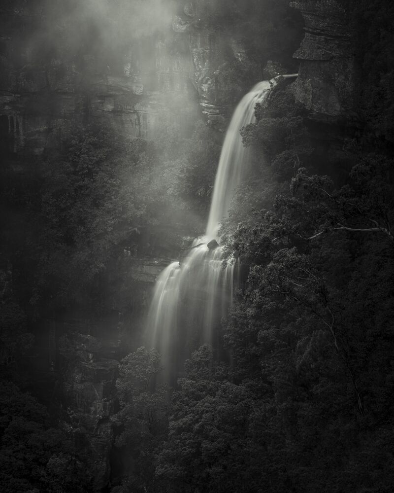 The photo Primordial Echoes by Australian photographer Grant Galbraith, the winner of the Dark and Moody nomination of The International Landscape Photographer of the Year 2020.