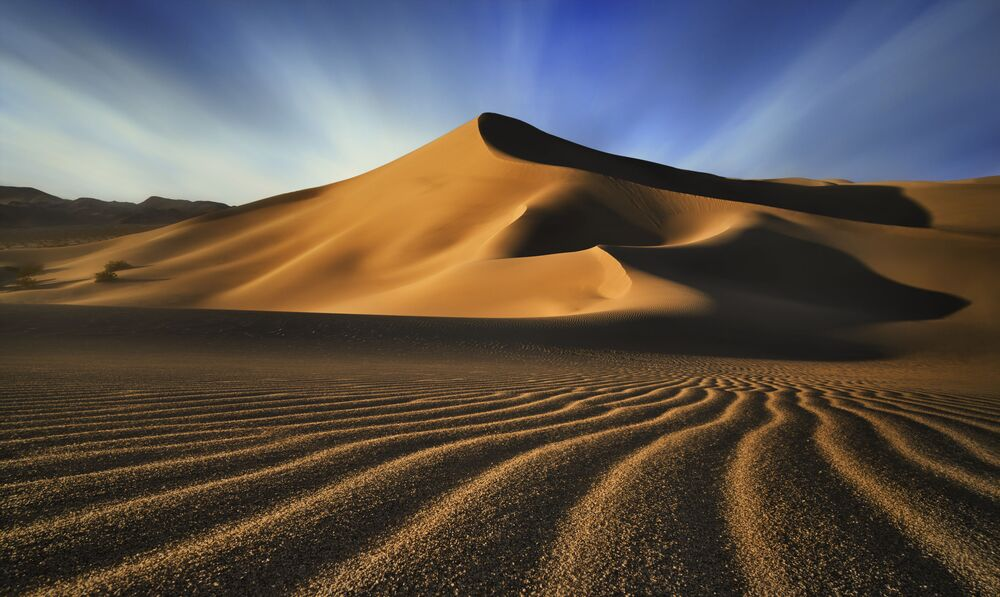 The photo Ibex Dunes by Canadian photographer Evan Will, the winner of the Incredible Horizon nomination of The International Landscape Photographer of the Year 2020.