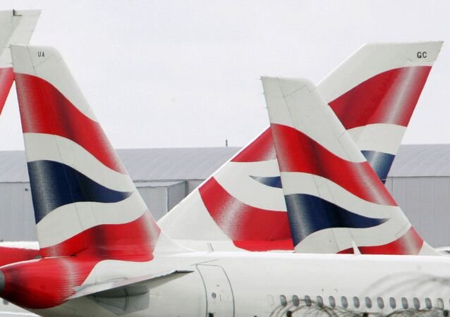 British Airways aircraft are seen stationary on the tarmac of London's Heathrow Airport in west London (File)