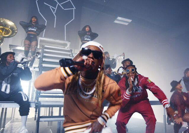 ET Hip Hop Awards 2020 - 2 Chainz,  Lil Wayne - Money Maker, in this image released October 27, 2020.
