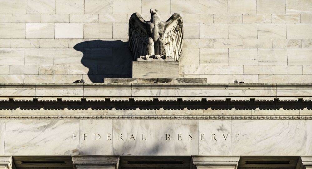 The Federal Reserve is seen in Washington, Monday, Nov. 16, 2020. President Donald Trump's unorthodox choice for the Federal Reserve Board of Governors, Judy Shelton, could be approved by the Senate this week, according to Majority Leader Mitch McConnell's office.