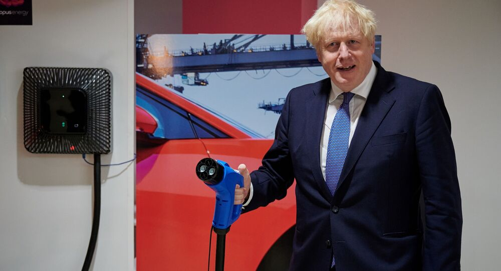 Johnson unveils £12bn 'green industrial revolution'