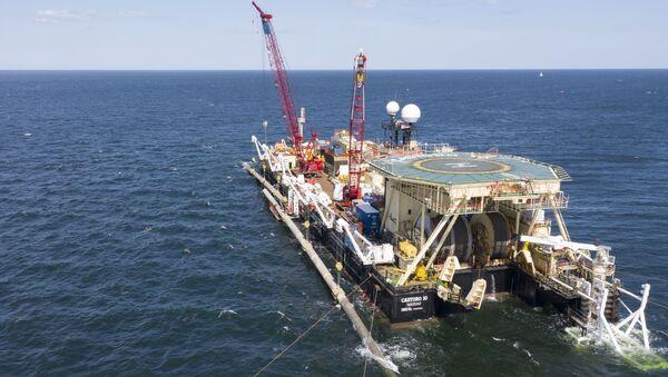 Nord Stream 2 pipeline construction - Sputnik International