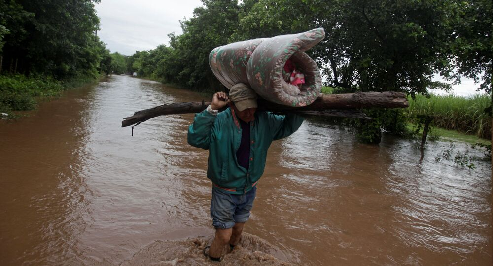 Central America flooding wreaks havoc with deluge from Storm Iota