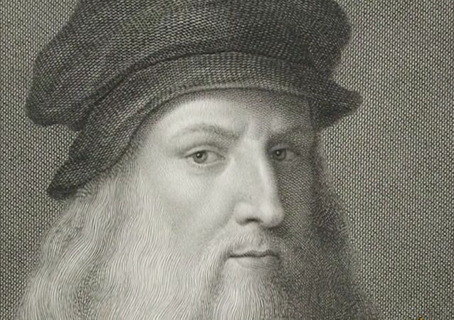 Screenshot captures image of Italian painter Leonardo da Vinci, whose works have recently come under renewed scrutiny amid beliefs that newly discovered red chalk painting may be his work.