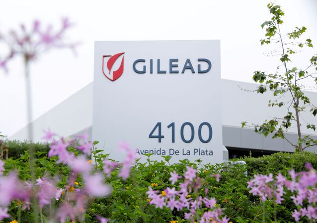 Gilead Sciences Inc pharmaceutical company is seen after they announced a Phase 3 Trial of the investigational antiviral drug remdesivir in patients with severe coronavirus disease (COVID-19), during the outbreak of the coronavirus disease (COVID-19), in Oceanside, California, U.S., April 29, 2020.