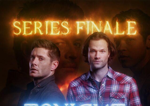 Supernatural series final episode poster