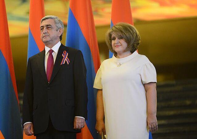 Rita and Serzh Sargsyan