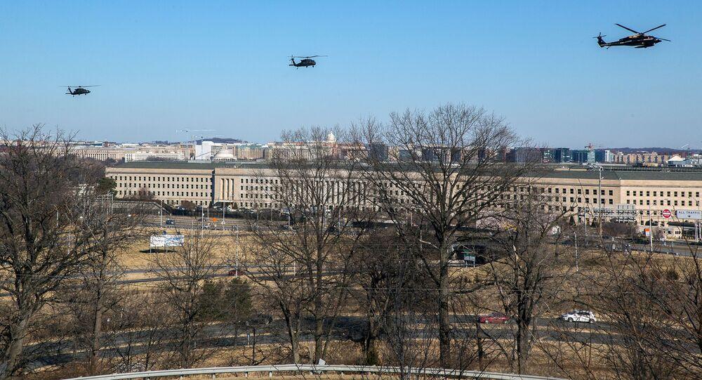 The Pentagon Building in Arlington County, Virginia
