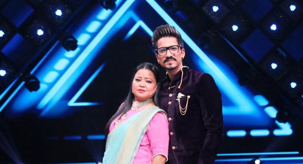 Indian comedian Bharti Singh and her husband Haarsh Limbachiyaa
