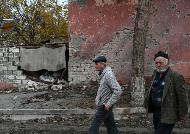 Nagorno-Karabakh residents