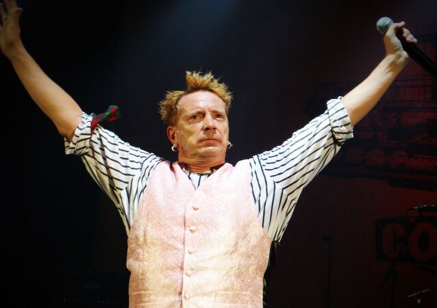 A photo of ex-Sex Pistols' Frontman Johnny Rotten Taken on October 5, 2008 titled John Lydon says London is over, it's over