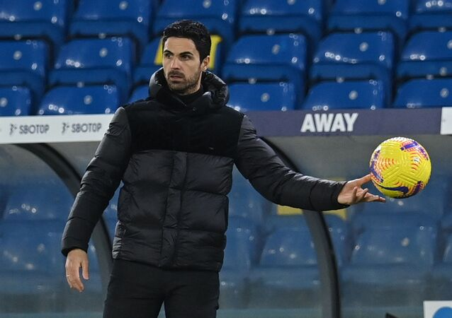 Soccer Football - Premier League - Leeds United v Arsenal - Elland Road, Leeds, Britain - November 22, 2020 Arsenal manager Mikel Arteta
