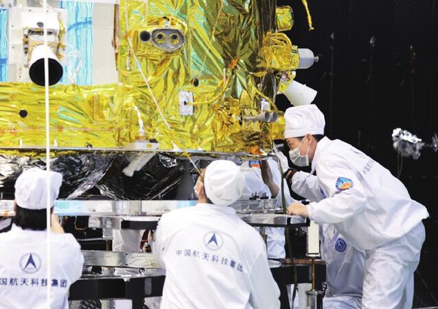 Chang'e 5 Undergoing Thermal Test