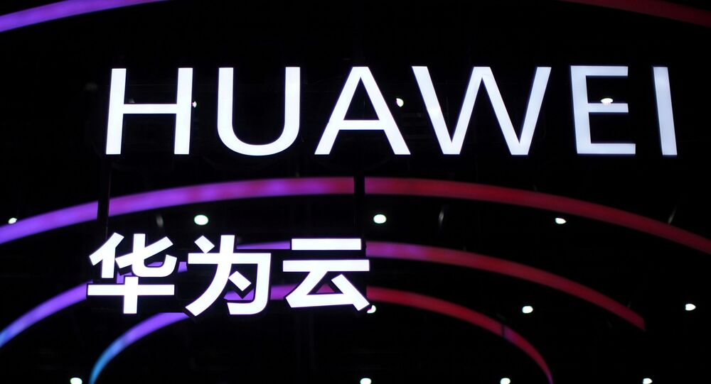 Letterings that form the name of Chinese smartphone and telecoms equipment maker Huawei are seen during Huawei Connect in Shanghai, China, Sept. 23, 2020