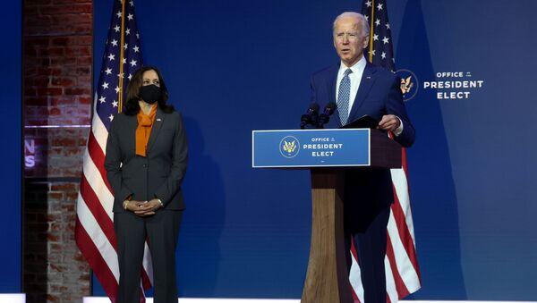 U.S. President-elect Biden speaks after meeting with transition coronavirus advisory board in Wilmington, Delaware - Sputnik International