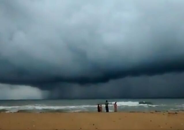 The situation today in Chennai's ECR!